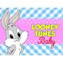 Kit Imprimible Baby Looney Tunes Diseñá Tarjetas Cumples 2x1 | ONLINEMANUALES PE