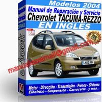 Manual de Reparacion Taller Chevrolet Tacuma-Rezzo 2004