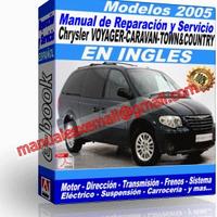 Manual de Reparacion Taller Caravan Voyager Town Country 2005