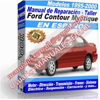 Manual de Reparacion Taller Ford Contour-Mystique 1997 1998 1999 2000