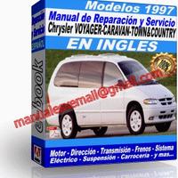 Manual de Reparacion Taller Caravan Voyager Town Country 1997