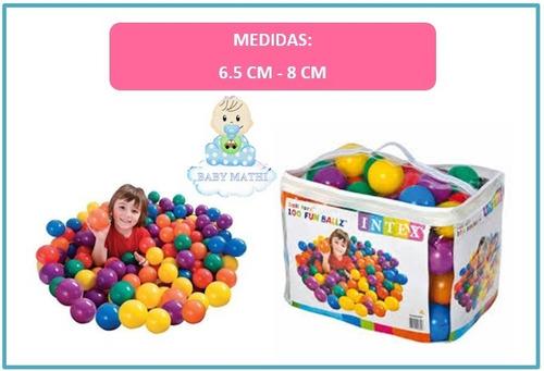 aa499b5b2 Pelotas Para Piscina - Juego De Bebés Y Niños Intex en venta en ...