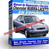 Manual de Reparacion Taller Chevrolet Nubira-Lacetti 2004 2005 2006
