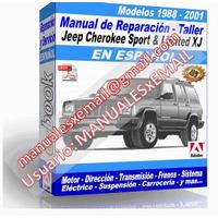 Manual de Reparacion Taller Jeep Cherokee Sport 1988-2001