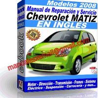 Manual de Reparacion Taller Chevrolet Matiz 2008