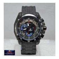 31dc28bdad44 Reloj Casio Edifice Ef-550rbsp Correa Caucho 2018 Original. S .