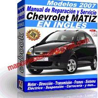 Manual de Reparacion Taller Chevrolet Matiz 2007