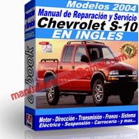 Manual de Reparacion Taller Chevrolet S-10 2004