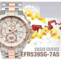 2cb68efa3ae3 Comprar Reloj Casio Edifice Efr-539sg-7a5v - 100% Nuevo Y Original