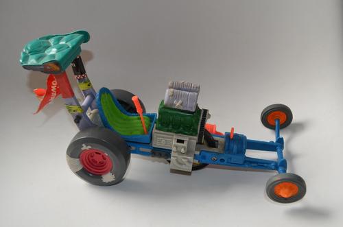 Juguete Antiguo Tmnt Vehiculo Tortugas Ninja Dragster Carro En Venta