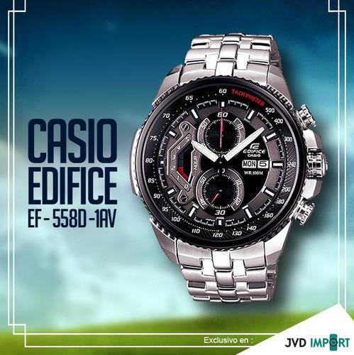 994f3e4f8951 Reloj Casio Edifice Ef-558d-1av - 100% Nuevo Y Original en venta en ...