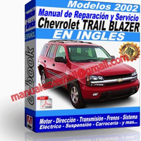 Manual de Reparacion Taller Chevrolet Trail Blazer 2002
